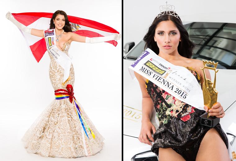 Miss Universe Austria Amina Dagi Miss Vienna Marleen Haubenwaller
